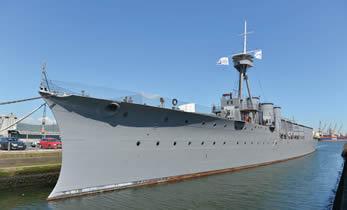 HMS Caroline Battleship