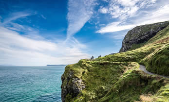 Giants Causeway Cliff Path