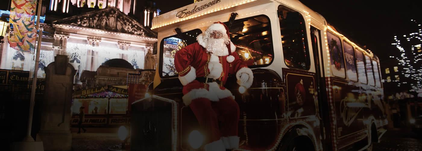 Belfast Santa Bus
