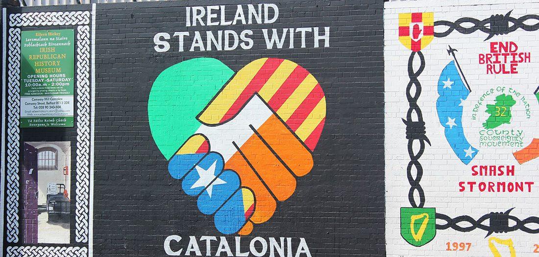 Troubles Belfast walls