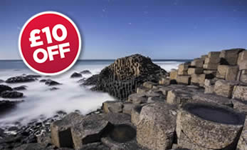£10 Off Giants Causeway Tour